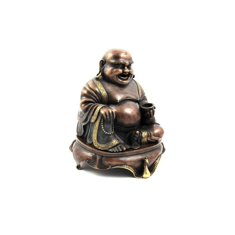 Brûle encens Bouddha rieur