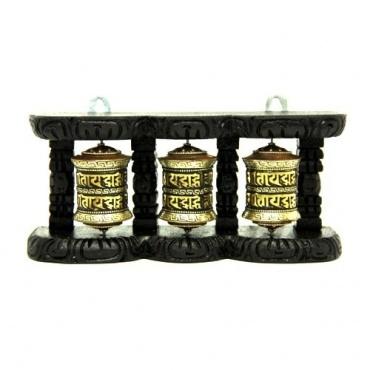 3 Moulins tibétains à prières