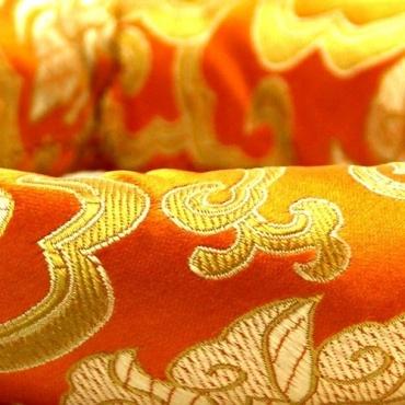 Anneau jaune bol chantant tibétain