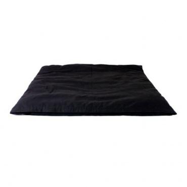 Coussin de méditation carré noir