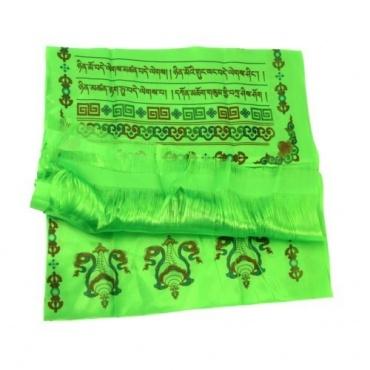 Echarpe de Félicité Khata vert