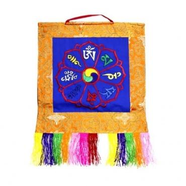 Bannière tibétaine OM