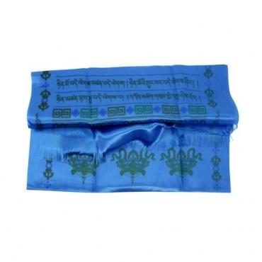 Echarpe de Félicité Khata bleu