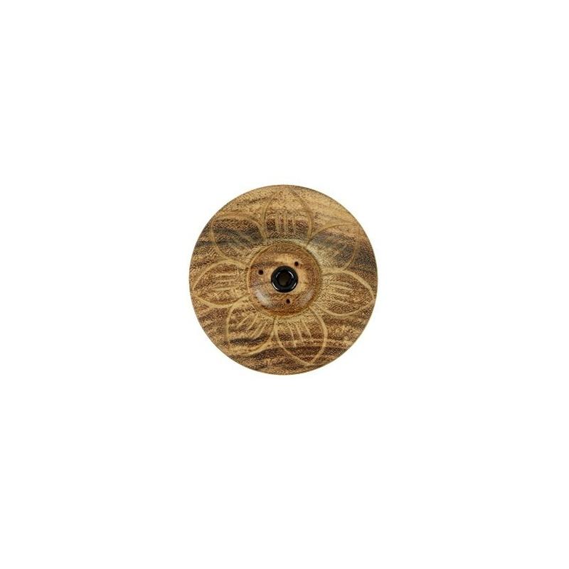 Petit porte encens en bois