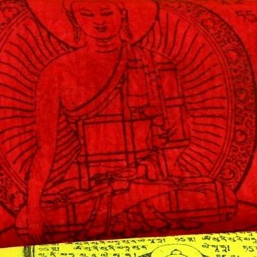 Drapeaux de prières tibétains Extra qualité XL