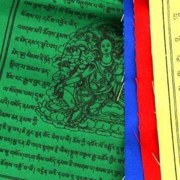 Drapeaux de prières tibétains Extra qualité M