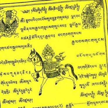 Drapeaux de prière tibétains Extra qualité L