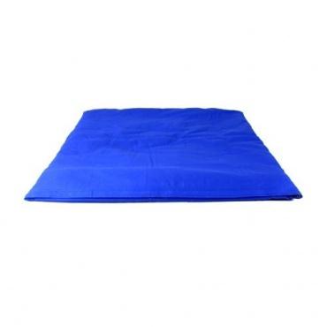 zabuton bleu et coussin m ditation tilleul 100 coton r sistant et millet suisse bio toit du monde. Black Bedroom Furniture Sets. Home Design Ideas