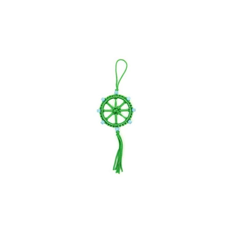 Porte-Bonheur bouddhiste vert
