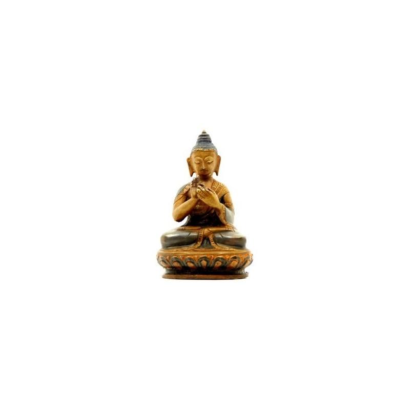 petite statue bouddha de l 39 enseignement toit du monde. Black Bedroom Furniture Sets. Home Design Ideas