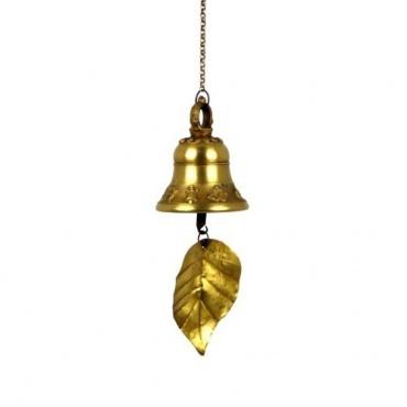 Cloche à vent dorée Népal