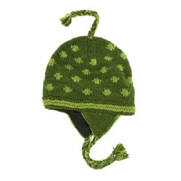 Bonnet à oreilles original Vert