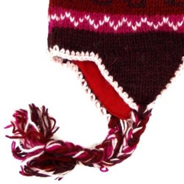 Bonnet à oreilles original Népal