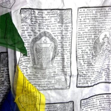 Grand Drapeaux Tibétain pour mât