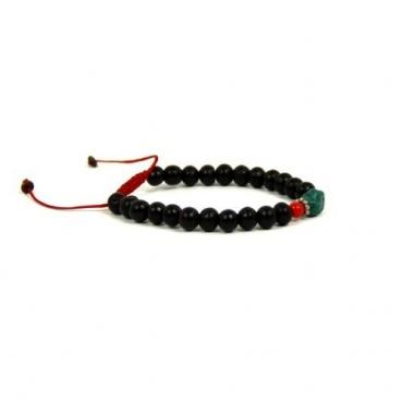 Bracelet bois et turquoise