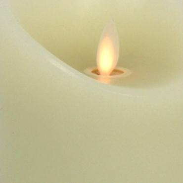 Bougies LED blanches pour l'intérieur