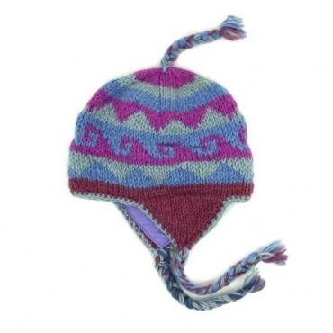 Bonnet népalais en laine