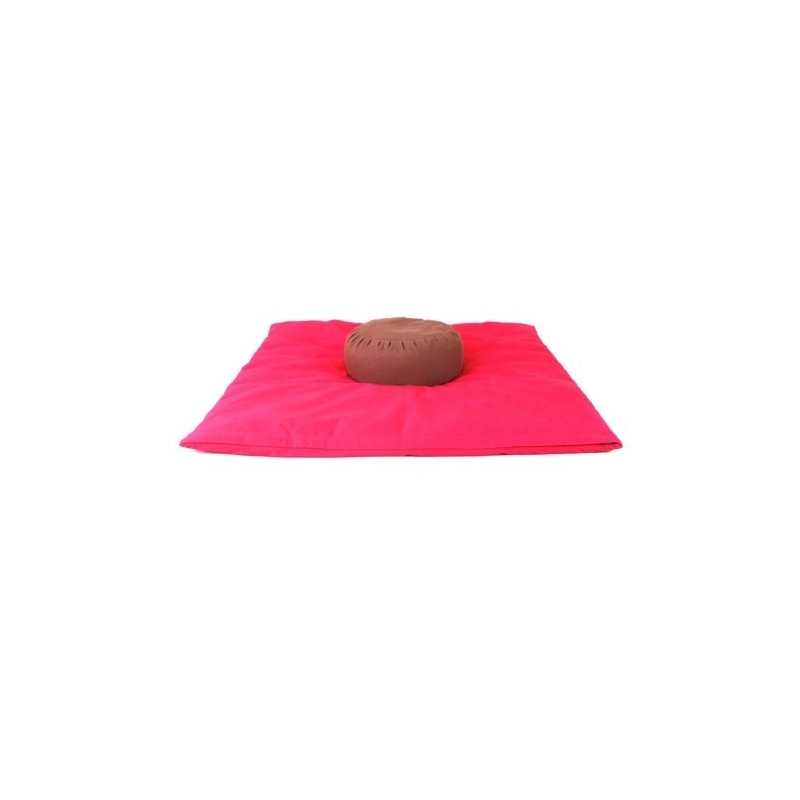Zabuton et Coussin méditation chocolat