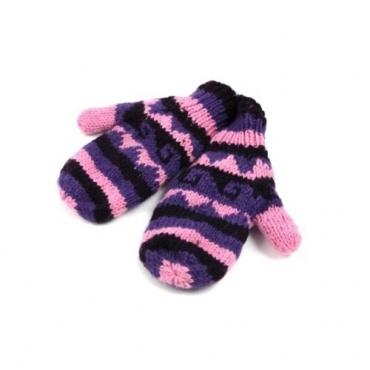 Moufles violettes