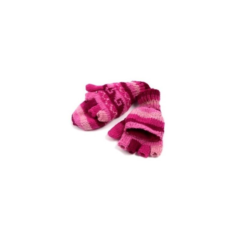Moufles - Gants rose