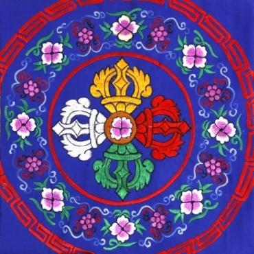 Nappe ppur Autel bouddhiste
