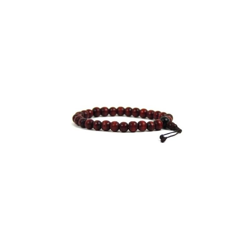 Bracelet mala en bois - grand poignet