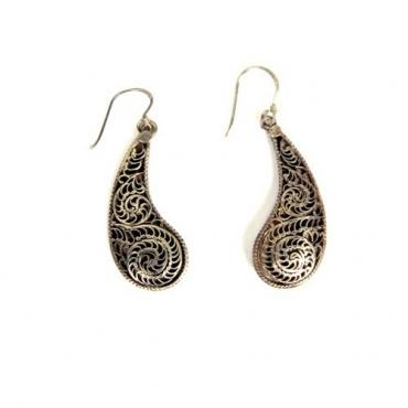 Boucles d'oreilles originales Népal