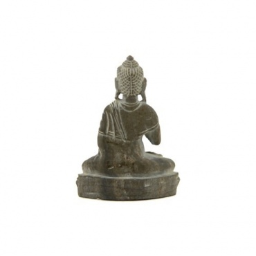 Mini Statue Bouddha protection en pierre