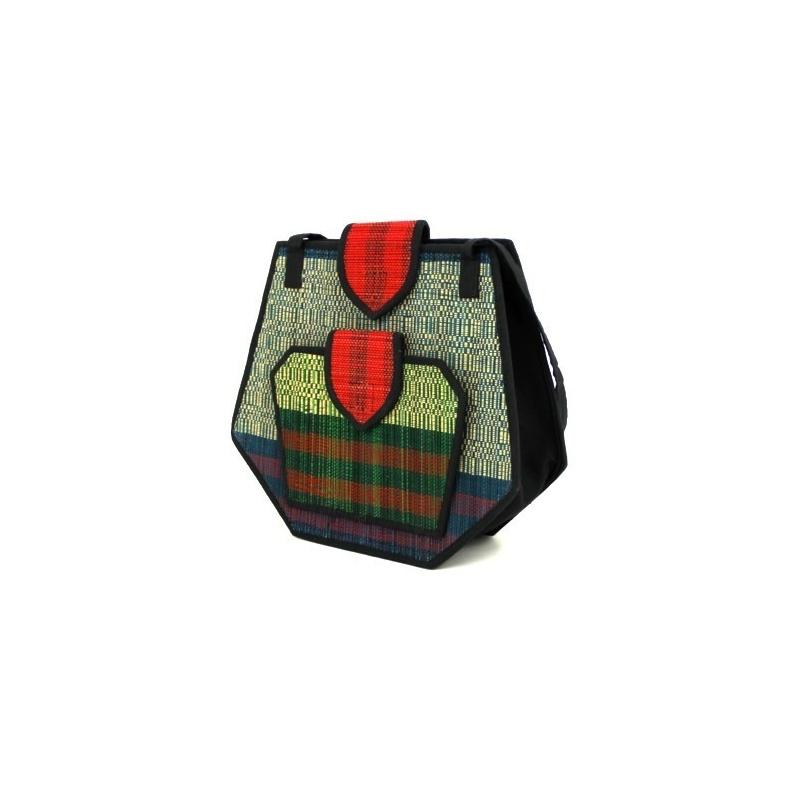 sac dame en fibres naturelles de jonc original color. Black Bedroom Furniture Sets. Home Design Ideas
