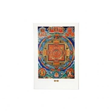 Carte postale Bouddha Mandala