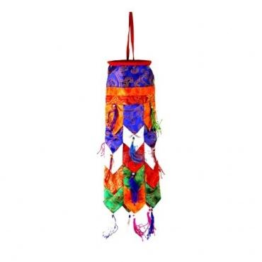 Décoration bouddhiste colorée