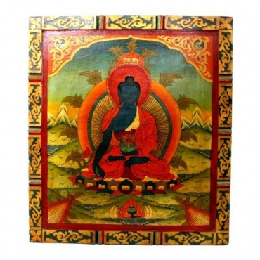 Peinture Bouddha de la Médecine