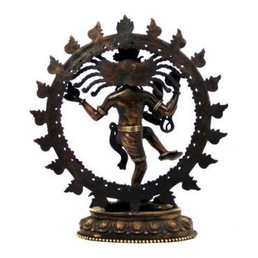Statue Nataraja danseur cosmique Shiva