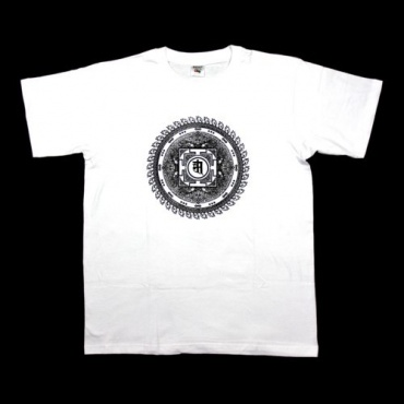 Tee-shirt blanc Mandala
