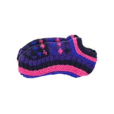 Chaussons de nuit violet 36 à 40