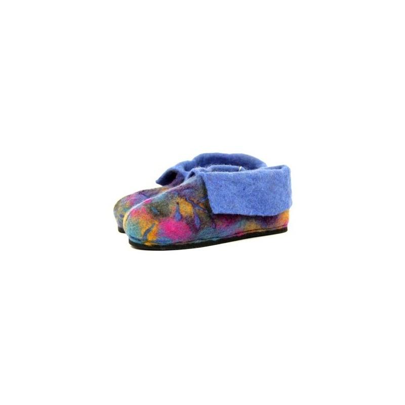 Pantoufle colorée pour enfant 30